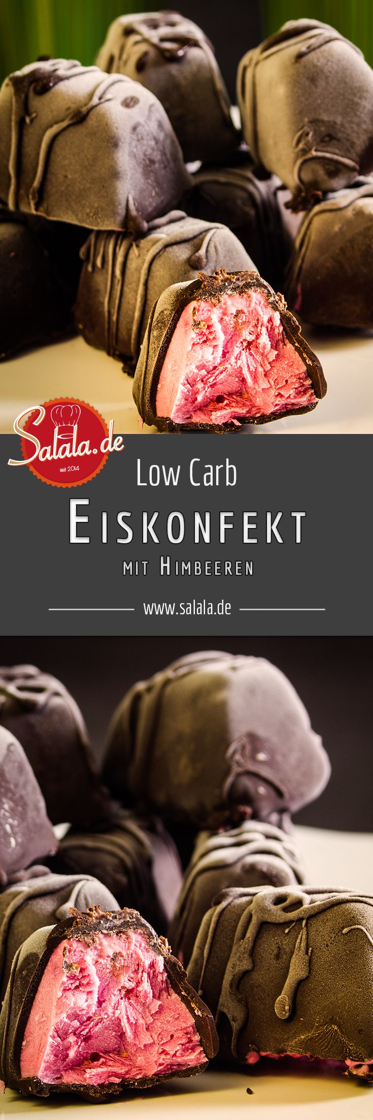 Eiskonfekt Eispralinen low carb glutenfrei