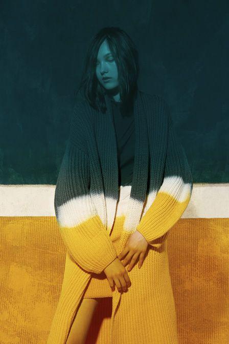 Yumi Lambert by Viviane Sassen for Christian Wijnants F/W 2013-14 lookbook