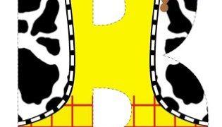 Alfabeto de Toy Story para descargar gratis