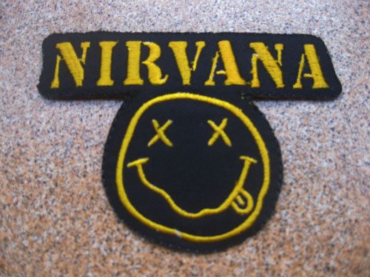 NIRVANA Music Patch Badge by happinessseller2530 on Etsy, $3.59