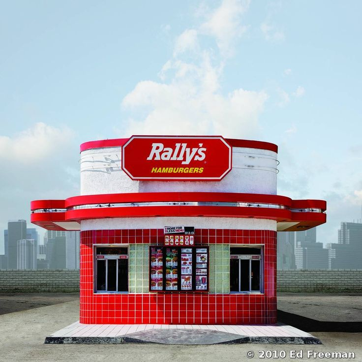 Ed Freeman Rally's Burgers. Los Angeles