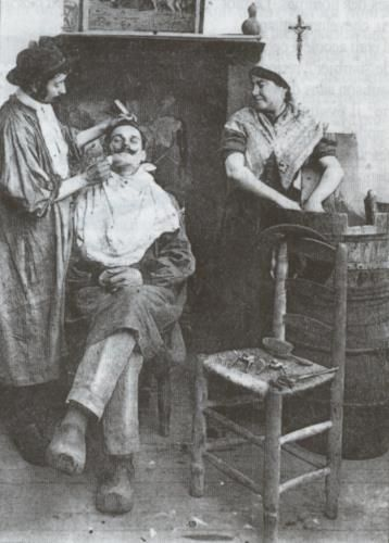 Le barbier breton