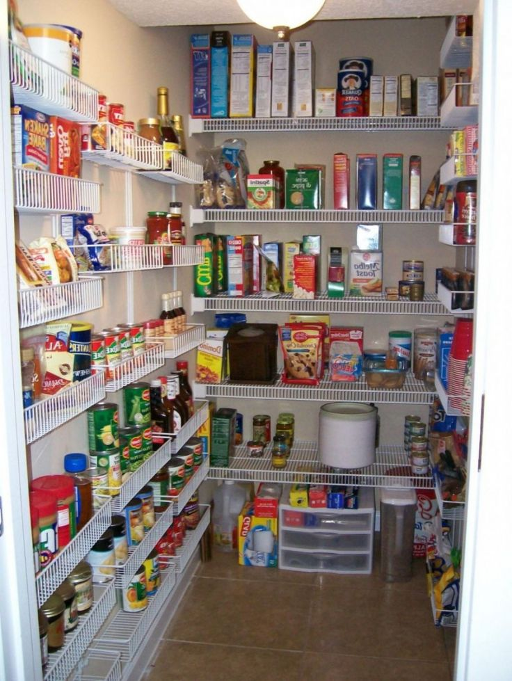 Gorgeous Walk-in Pantry Shelving Units With Wall Mounted Wire Shelving Systems On Adjustable Wall Shelving Brackets Also 3 Tier Small Plastic Storage Drawers from Kitchen Pantry Ideas