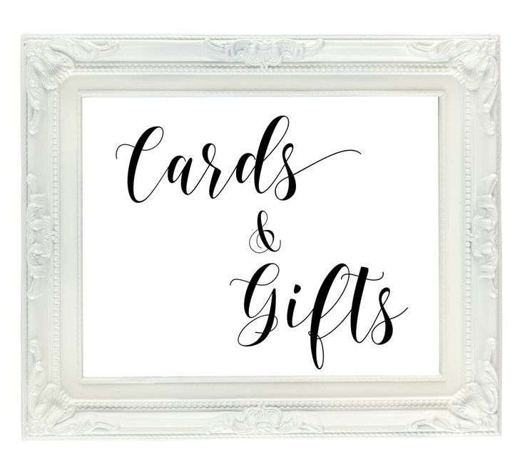 Cards & Gifts Wedding Sign, PRINTABLE wedding sign, gift table sign, Instant Digital Download wedding sign, card table sign, 8x10 PDF, JPG by VividBlissPrintables on Etsy https://www.etsy.com/listing/256741396/cards-gifts-wedding-sign-printable