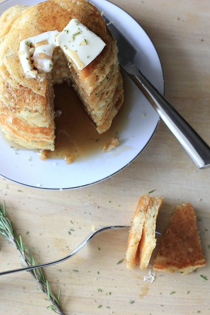 Buttermilk Cornmeal Cakes  (1 of 1) by Erika-SouthernSouffle, via Flickr
