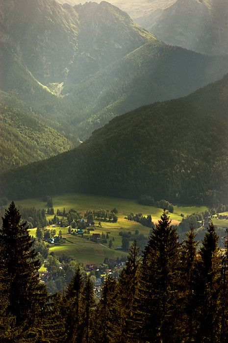 Zakopane, Tatra Mountains, Poland. photo by Tomasz Boinski