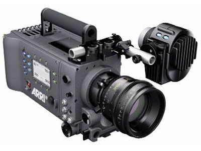 ARRI ALEXA Starter Kit    The ARRI ALEXA Digital Cinema camera is designed for broadcast, motion picture and commercial applications. Using the new ALEV III Super-35 sized CMOS Bayer-pattern sensor, the ALEXA is capable of 1920x1080 HD outputs as well as 3.5K Uncompressed RAW. ALEXA shoots 1-60fps with a base sensitivity of 800 ISO and can record in ProRes via internal hot-swap SxS cards, or output Uncompressed HD-SDI or ARRIRAW.