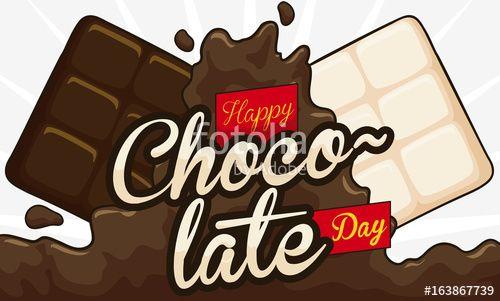 Liquid, White and Dark Cocoa Bars to Celebrate Chocolate Day