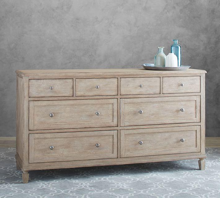 Sausalito 8-Drawer Extra Wide Dresser, Seadrift | Extra ...