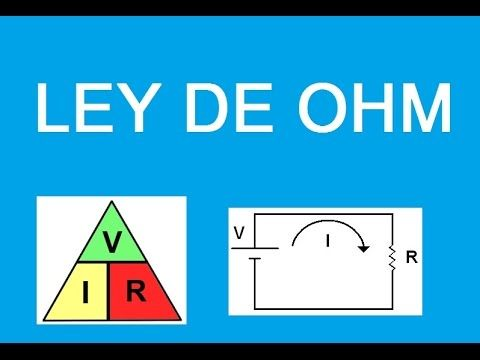 Tutorial (Explicacion) Ley de Ohm  Ejercicios Resueltos Circuitos Electr...