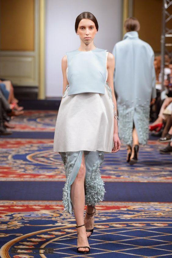 Cool Chic Style Fashion: Fashion Runway | Ruban Russia Fall 2015