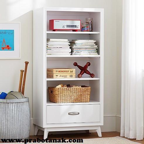 JualRak Buku Anak Putih Laci 1 Murah Rak Buku Anak Putih Laci 1 - ini kami bandrol dengan harga terjangkau, dengan model minimalis berlaci 1 ini bisa bunda
