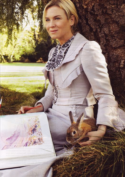 Renée Zellweger as Miss Potter. Loved her in this movie : )