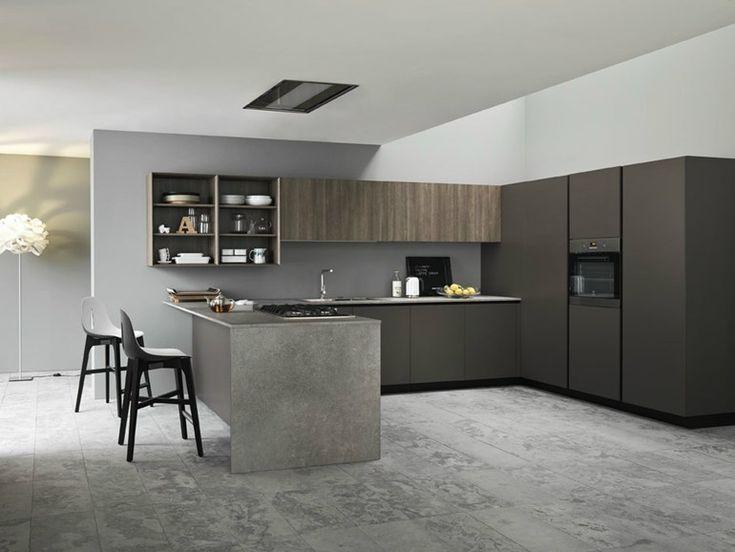 Fitted kitchen ARIEL 04 by Cesar Arredamenti | design Gian Vittorio Plazzogna