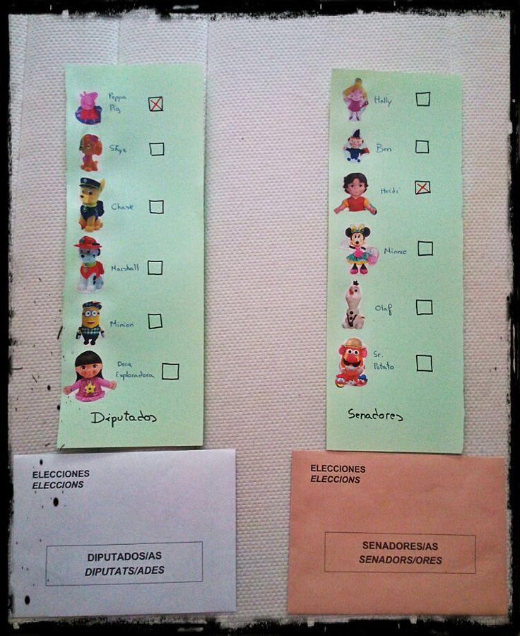 Elecciones generales 26 junio 2016 yo ya tengo mi voto preparado.
