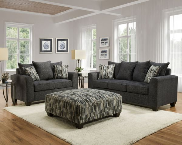 1220 Collin Marine Sofa Loveseat Collection In 2020 Loveseat Sofa Love Seat Mattress Furniture
