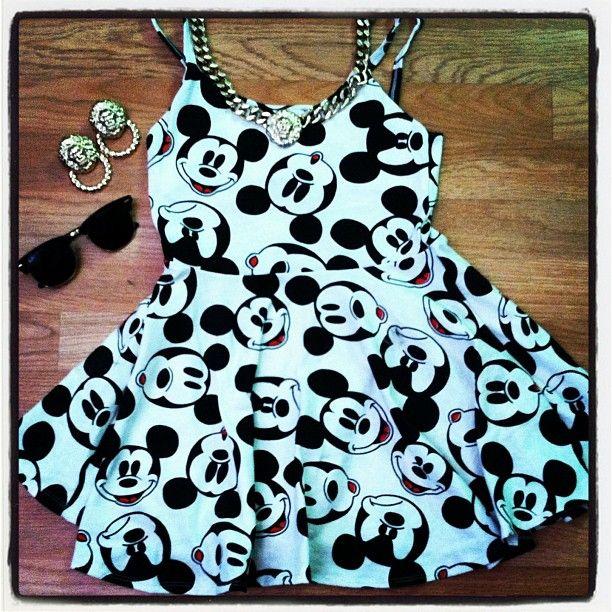 Mickey Mouse dress www.ilmondoèmio.it