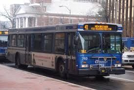 ctranist city bus- main transportation to the bank and to work