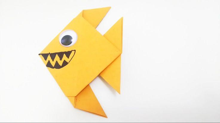 Ryba Pirania Origami