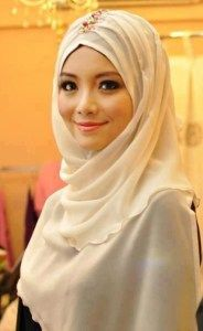 Special Occasion Hijab Styles and Dresses 2013