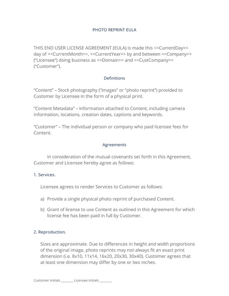License agreement template 1076 best real state images on 28 best photography serviceproduct contracts images on pinterest license agreement template pronofoot35fo Gallery