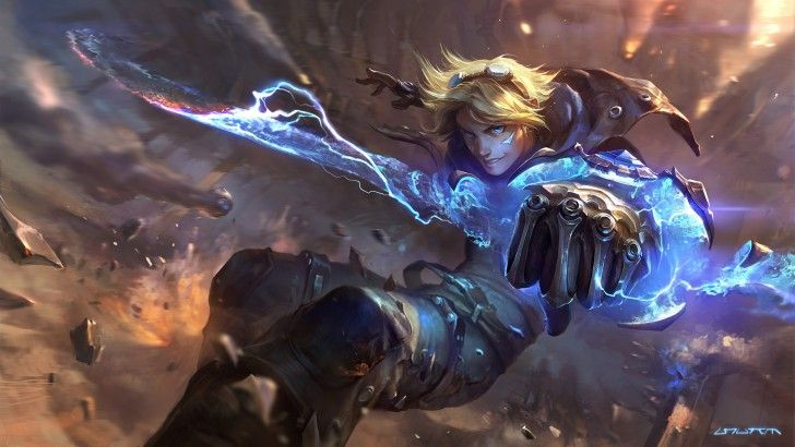 Ezreal League of Legends New Splash Art 2560x1440