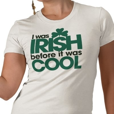 Irish pride from zazzle