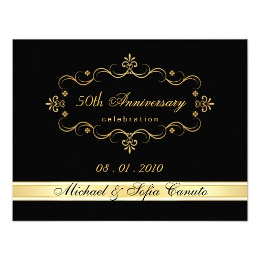 185 best anniversary party invitations images on pinterest elegant rsvp reply cards custom request anniversary party invitationsanniversary stopboris Choice Image