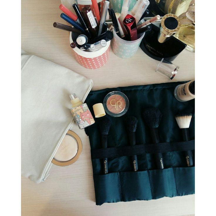 My makeup diy bag