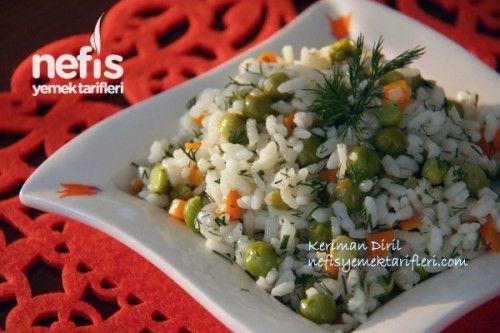 Sebzeli Bahar Pilavı (Zeytinyağlı) Tarifi