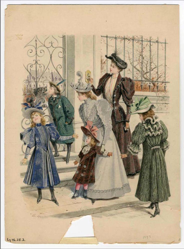Ladies Fashions, 1894