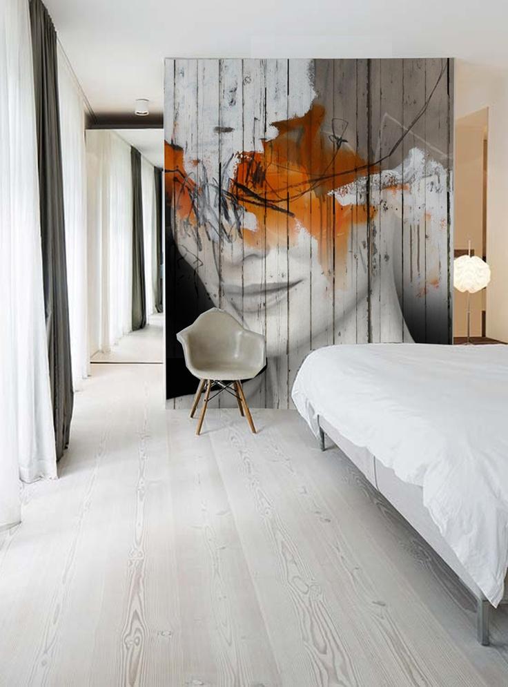 "AM Artworks ""Kate in wall"" - info sale pil4r@routetoart.com                                                                                                                                                     More"