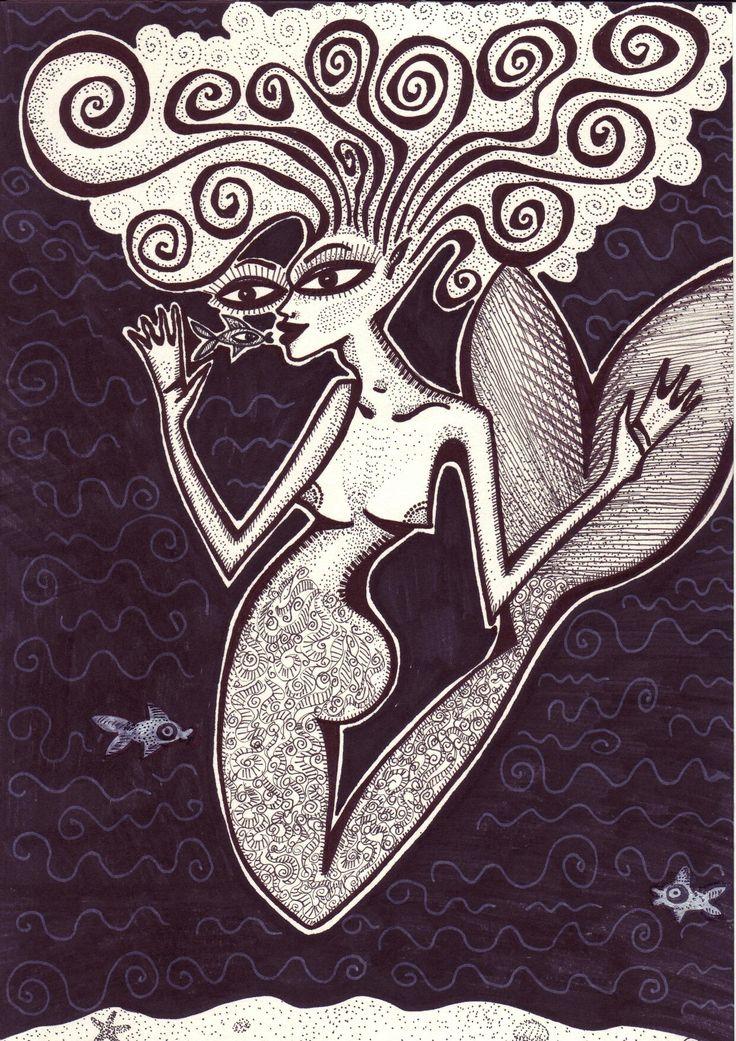 Mermaid by Mad.Madlene Art