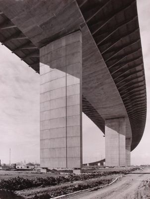 Westgate Bridge, Photograph by Wolfgang Sievers, 1971