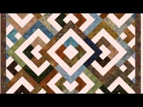 Which YouTube channels offer good instruction videos for making rag quilts?
