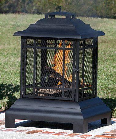 Look at this #zulilyfind! Rectangle Pagoda Patio Fireplace #zulilyfinds