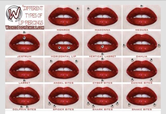 #LipPiercing  which one should i get ^-^