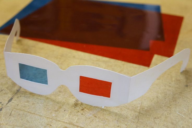 How to Make 3D Glasses (with Pictures - link to template at bottom of article)
