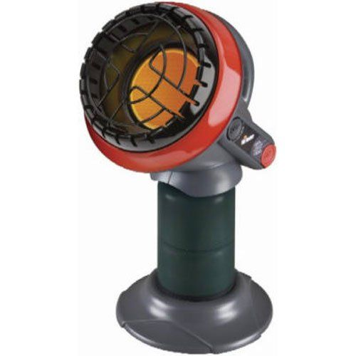 Little Buddy 3800-BTU Indoor Safe Propane Heater for staying warm camping in a tent with tips to stay warm when camping