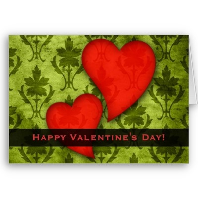 happy green valentine day