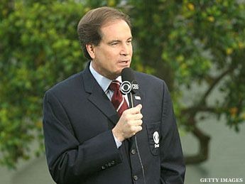 'Hello, Friends' ... Fans Imitate Jim Nantz  #golf #Masters