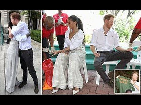 PRINCE HARRY and RIHANNA take HIV test together in Barbados
