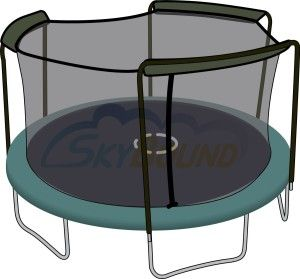 Check out a variety of trampoline safety nets here at http://trampolineparadise.com/trampoline-replacement-parts/
