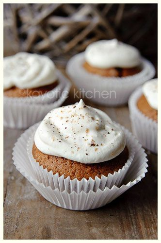 Irish Coffee Cupcakes - take 3 (I like to compare many recipes for the ...