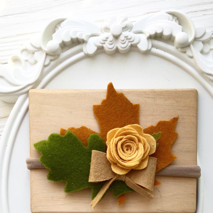 A personal favorite from my Etsy shop https://www.etsy.com/listing/557979931/autumn-leaves-headband-fashion-colors