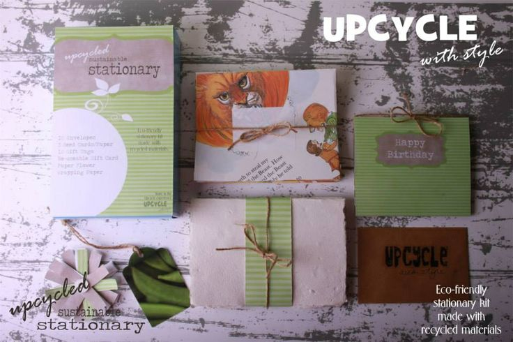 Eco-friendly Stationary Kit from recycled materials