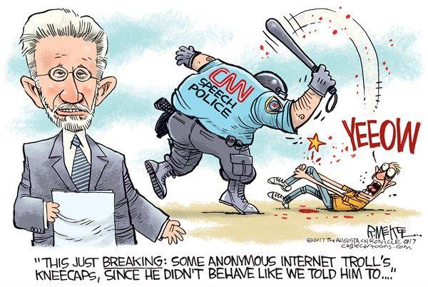 7/6/17 Rick McKee - The Augusta Chronicle - CNN Breaking News - English - CNN, reddit, Trump