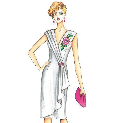F3667, Marfy Dress