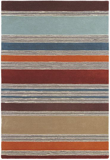 Wovenground Affinity Rug By Harlequin In Red Http Modern