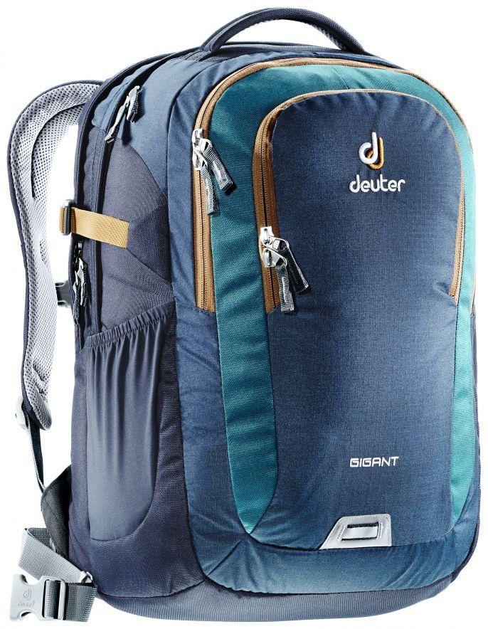 Daypackrucksack Gigant: Der Deuter Gigant Rucksack mit Laptoptasche bis zu 17 Zoll Laptop verstaut alles gut sortiert und trägt sich äußerst komfortabel.